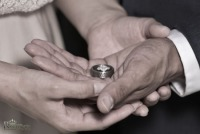 Wedding rings by Royal Photo
